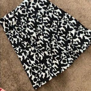 Cynthia Rowley Skirts - Cute Cynthia Rowley black and white skirt.